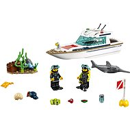 LEGO City 60221 Diving Yacht - LEGO Building Kit