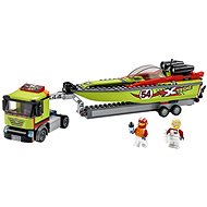 LEGO City Great Vehicles 60254 Race Boat Transporter - LEGO Building Kit