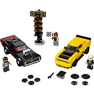 LEGO Speed ??Champions 75893 2018 Dodge Challenger SRT Demon and 1970 Dodge Charger R/T - LEGO Building Kit