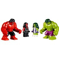 LEGO Super Heroes 76078 Hulk vs. Red Hulk - Building Kit