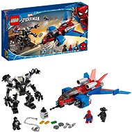 LEGO Marvel Super Heroes 76150 Spiderjet vs. Venom Mech - Building Kit