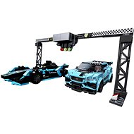 LEGO Speed Champions 76898 Formula E Panasonic Jaguar Racing GEN2 car & Jaguar I-PACE eTROPHY - LEGO Building Kit