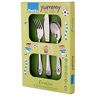 Amefa Set of Children's Cutlery 3pcs / Football - Children's Cutlery