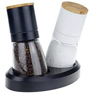 Toro Salt and pepper mill, 6.5 / 13.2cm, 140ml, 2pcs - Manual Spice Grinder