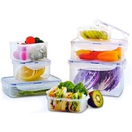 Lock&Lock Food Container - set 7pcs - Food Container Set