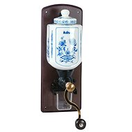 LODOS Wall Coffee Grinder with Blue Onion Motif
