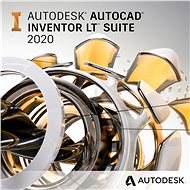 AutoCAD Inventor LT Suite Commercial Renewal for 1 Year (Electronic License) - Electronic license