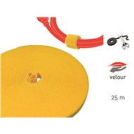 LABEL THE CABLE LTC PRO Roll 1240 Yellow 25m - Cable Organiser