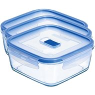 Luminarc PURE BOX ACTIVE 3-Piece Set of Containers - Food Container Set
