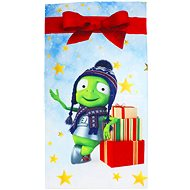 Children towel with Alza Alien motif - Towel