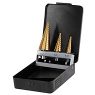 EXTOL stepped drills, TiN - Drill Set