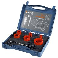 EXTOL crown drill bits, plumbing set 9pcs - Drill Set