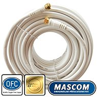 Mascom Coaxial Cable 7676-150W, Connectors F 15m