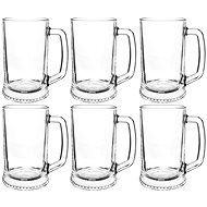 Mäser Dresden Clear Glass 70cl Foam to the Edge 6 pcs - Beer Glass