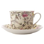 Maxwell & Williams Cup with Saucer, 480ml, William Kilburn Summer Blossom - Coffee Cups