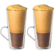 Maxxo Thermo Glasses Coffee Frappé, 320ml, 2pcs - Thermo-Glass