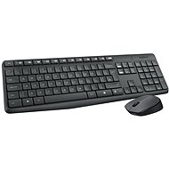 Logitech Wireless Combo MK235 DE - Mouse/Keyboard Set