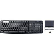 Logitech Wireless Keyboard K375s CZ - Keyboard