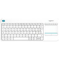 Logitech Wireless Touch KBD K400 Plus White DE - Keyboard