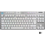 Logitech G915 LIGHTSPEED US INT GL Tactile, White - Gaming Keyboard