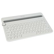 Logitech Bluetooth Multi-Device Keyboard K480 White - Keyboard