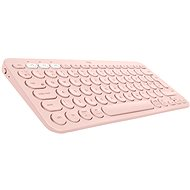 Logitech Bluetooth Multi-Device Keyboard K380, Pink - Keyboard