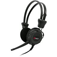 C-TECH MHS-02 black - Headphones
