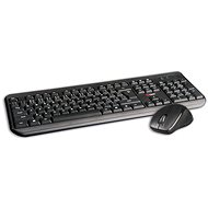 C-TECH WLKMC-01 Wireless Combo black - Mouse/Keyboard Set