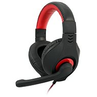 C-TECH NEMESIS V2 GHS-14 (black-red) - Headphones with Mic