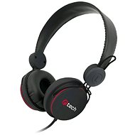 C-TECH AHS-07 black - Headphones