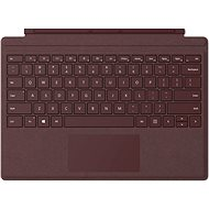 Microsoft Surface Pro Type Cover Burgundy - Keyboard