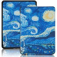 B-SAFE Lock 1292 for Amazon Kindle 2019, Van Gogh - E-book Reader Case