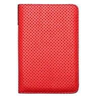 PocketBook DOTS red - grey - Protective Cover