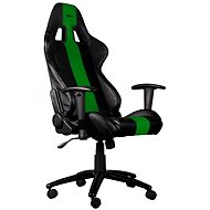 C-TECH PHOBOS black-green - Gaming Chair