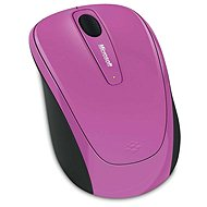 Microsoft Wireless Mobile Mouse 3500 Artist Pink (Limited Edition) - Mouse