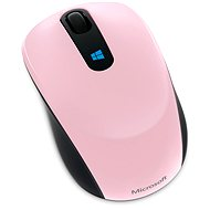 Microsoft Sculpt Mobile Mouse Wireless, pink - Mouse