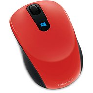 Microsoft Sculpt Mobile Mouse Wireless, red - Mouse