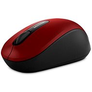 Microsoft Wireless Mobile Mouse 3600 - Dark Red - Mouse