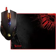 A4tech Bloody Q5081S Mouse Q50 + Mouse Pad B-081S Set - Gaming mouse