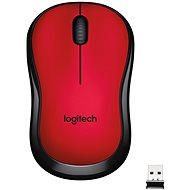Logitech Wireless Mouse M220 Silent Red