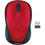 Logitech Wireless Mouse M235 Red - Mouse