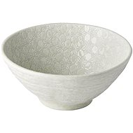 Made In Japan Large Udon Bowl White Star 20cm 950ml