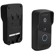 Technaxx wireless WiFi video doorbell with camera and door opening, black (TX-82) - Video Phone