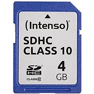 Intenso SD Card Class 10 4GB SDHC - Memory Card