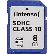 Intenso SD Card Class 10 8GB - Memory Card