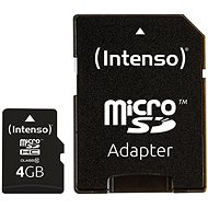 Intenso Micro SD Card Class 10 4GB - Memory Card