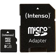 Intenso Micro SD Card Class 10 8GB - Memory Card