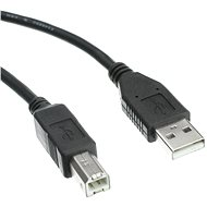 OEM USB 2.0 interface A-B 3m black - Data cable