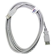 OEM USB 2.0 Extension AA 5 m gray  - Data cable