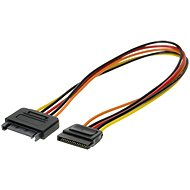 ROLINE power SATA M - SATA F - extension, 0.3m - Data cable